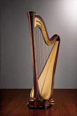 Harp - Salvi Apollo 'Cherubim XXth Birthday Harp'