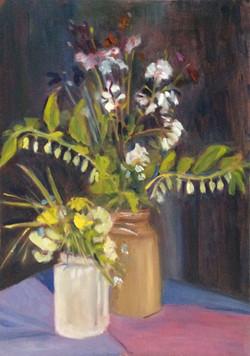 Spring flowers oil 29x42