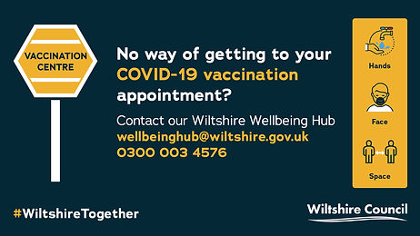Support for people who need transport to get to their vaccination appointment