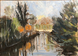 River reflections 35x25 oil