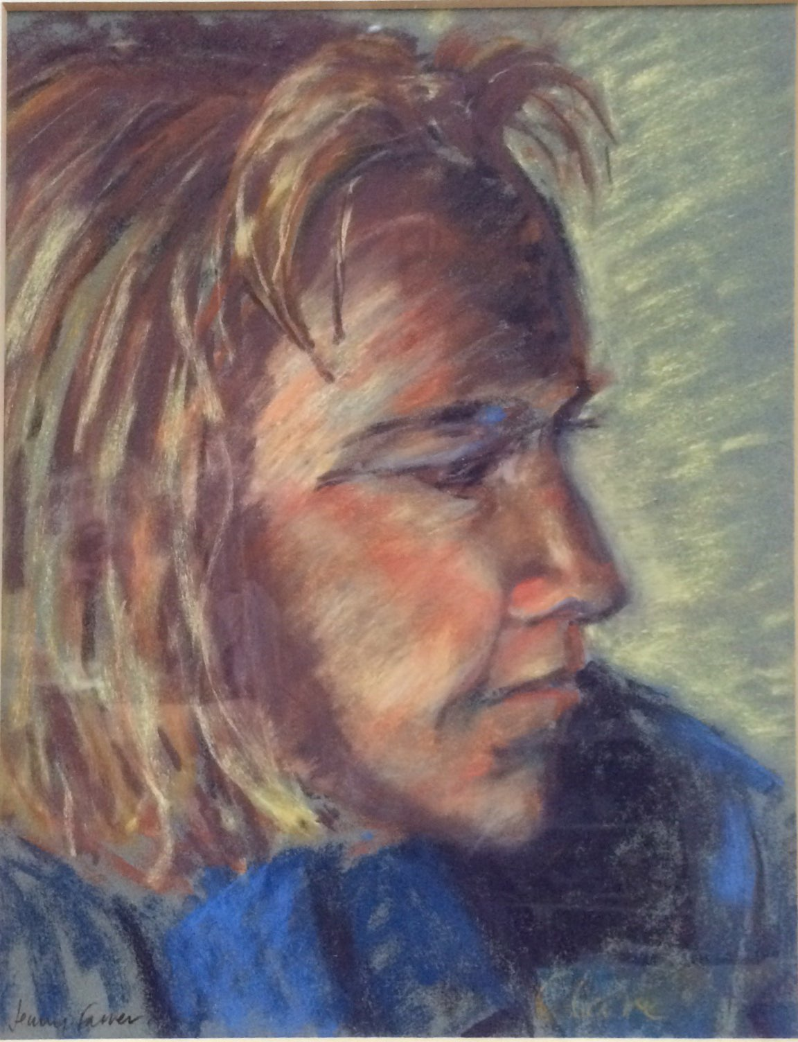 Clare pastel 30x37