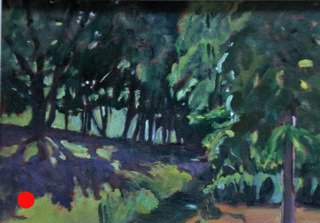End of summer shadows SOLD