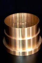 Spun Copper Grid Cup