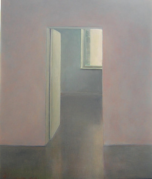 Room in Ixelles, 50x60cm, Oil on Canas, 2006