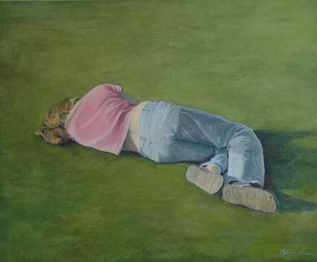 In the park,  90 x80cm, oil canvas, 2010