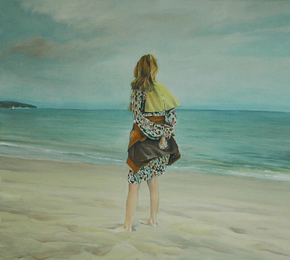 """""""South of France"""", 80x90cm, Oil canvas, 2010, Private collection"""