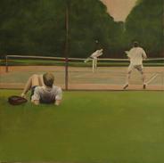 Regent's Park, 100x100cm, Oil on canvas, 2006