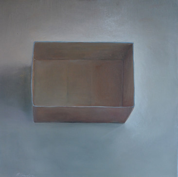 The Box, 80x90cm, Oil on Canvas, 2014