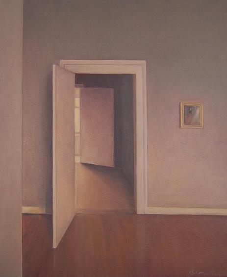Interior, 2004, oil canvas, 60x40cm, Private collection