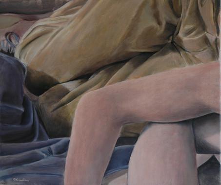 Entangled, 50 x 60 cm, Oil, 2014