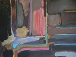 """""""Composition 212 in browns"""", 70 x 90 cm, oil on canvas, 2021 (Available)"""