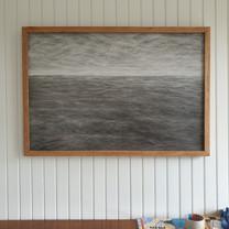 Small seascape, oil on panel,  50x40cm, 2020