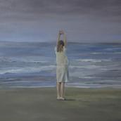 """""""North Sea"""", 70x90cm , oil on canvas, 2015, Private collection"""