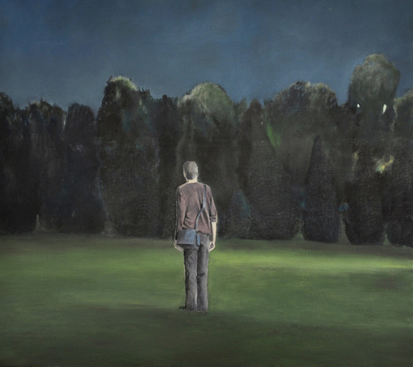 """""""Birnam wood"""", Oil on canvas, 90x90cm, 2008, Private collection"""