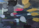"""English Landscape"", 90 x 60 cm, Acrylic canvas, 2017 (Private Collection)"