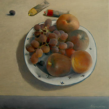 Fruits, 90x90cm, oil on canvas 2008