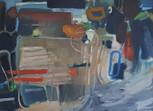 """""""Composition 213 Masculine Feminine"""", 70 x 90 cm, Oil on canvas, 2021 (Available)"""