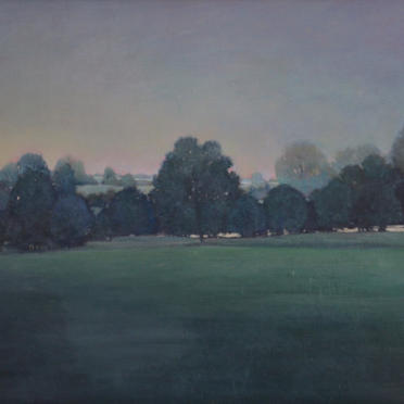 """Brokwell Park"", 60x90cm, oil on canvas, 2010, private collection."
