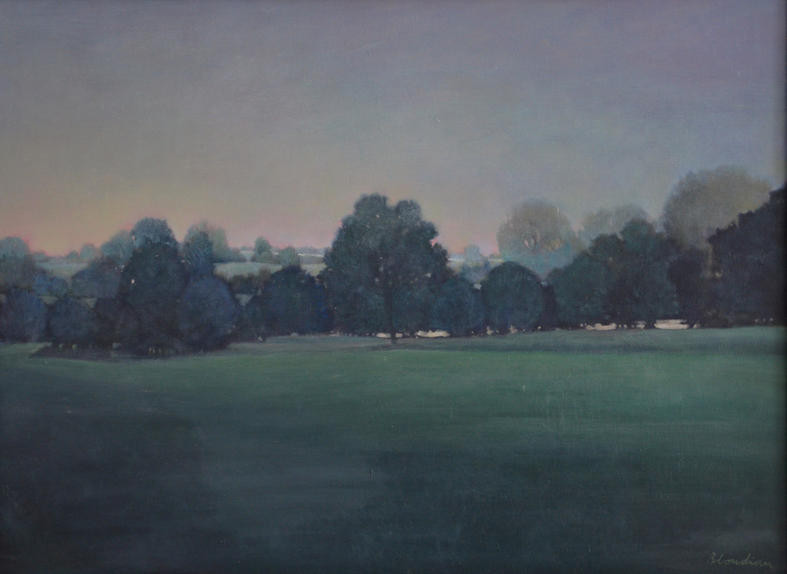 """""""Brokwell Park"""", 60x90cm, oil on canvas, 2010, private collection."""
