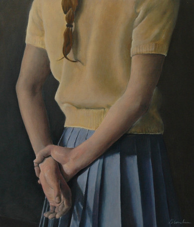 Yellow Jumper, 2008, 60 x 50 cm, oil canvas