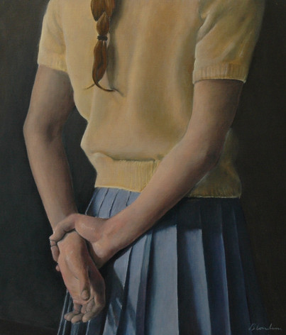 Yellow Jumper, 2008, 60 x 50 cm, oil canvas