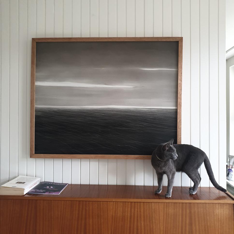 Sea to Bergen, 100x80cm, oil on panel, 2021.jpg