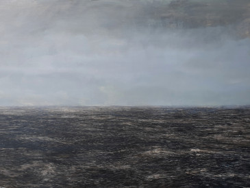 """Seascape 3"", 110x80cm, 2019 (Price: EUR 1,200)"