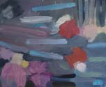 Flowers on lake, 30x40cm, oil on canvas, 2021.jpg