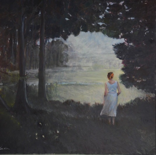 """""""Dulwich Woods"""", 90x90cm, oil canvas, aivalable"""