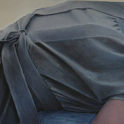 """The grey dress"" 60x71cm Oil on canvas, 2010, (private collection)"