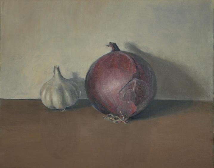 Garlic, 30x40cm, oil canvas, 2015