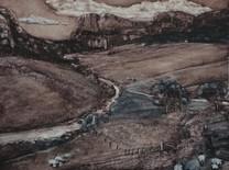 """""""Scotland"""" , 30x40 cm, oil on boiard, 2016 (Price: 450 EUR)"""
