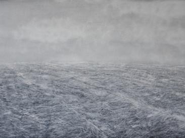 """Morning sea"",  60x40cm, oil on board, 2016 (Private collection)"