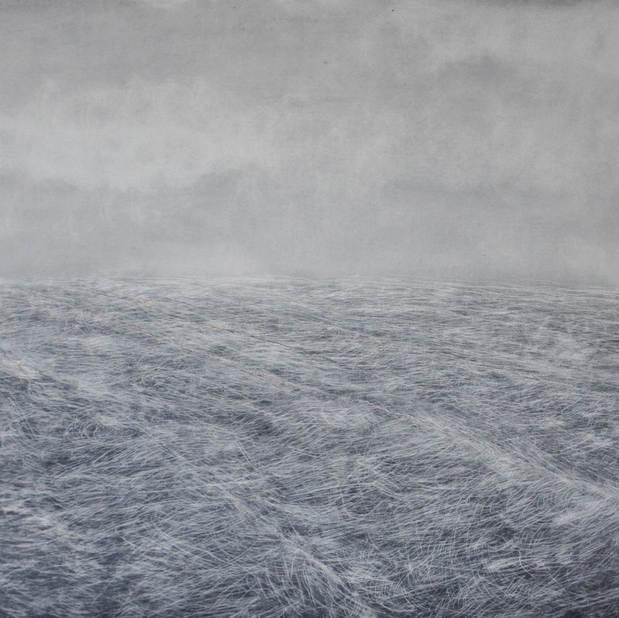 Seascape one, 50x60cm, oil board, 2017
