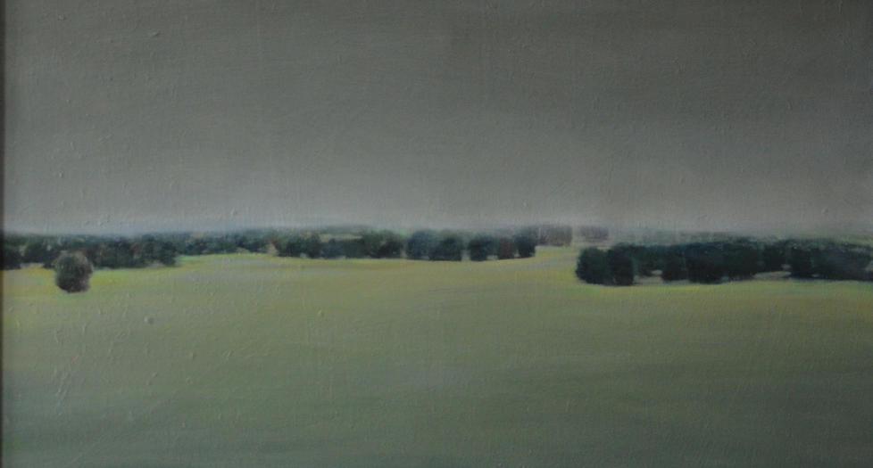 """""""Long fields"""", 60x90cm, oil on canvas, 2016"""
