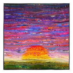 sunrise..sunset--quilt--ann brauer--2021