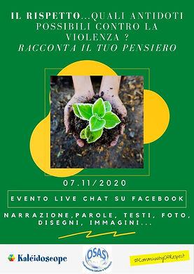 7 novembre 2020 Sonia Flavia live chat.j