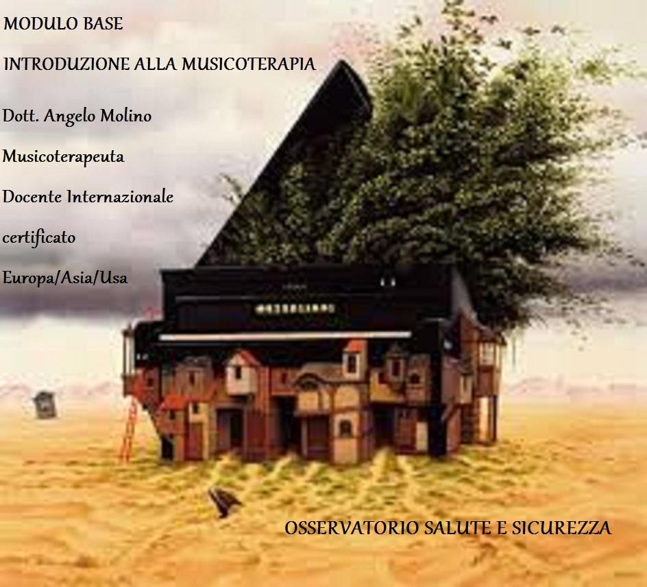 INTRODUZIONE MUSICOTERAPIA CORSO