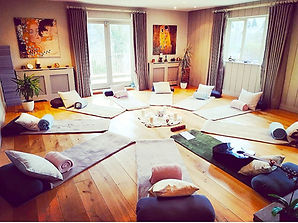 Stunning yoga studio