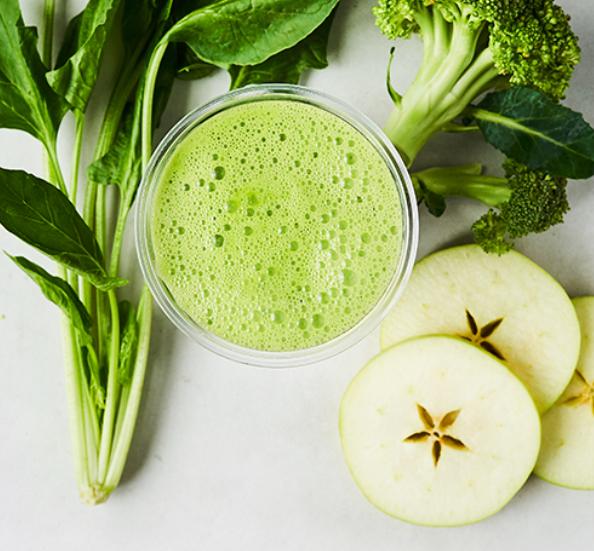 Kale Broccoli Cucumber Spinach Apple