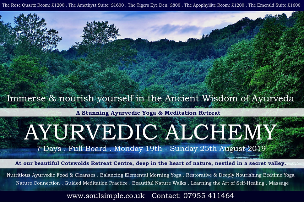 Deep In Heart Of Emerald Forest >> Soulsimple Ayurvedic Alchemy Cotswolds