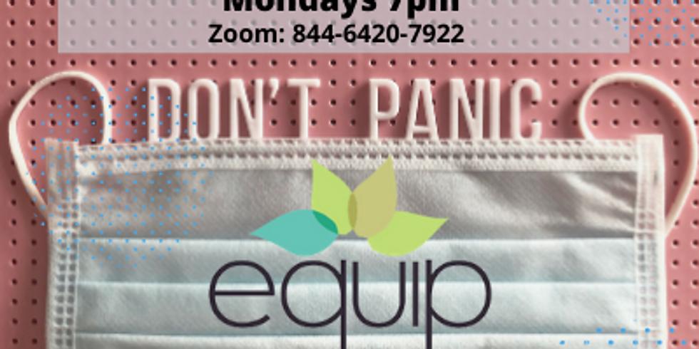Don't Panic    Every Monday 7pm