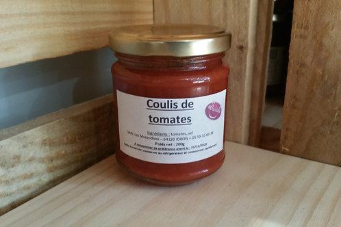 Coulis de tomates 200g