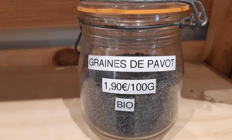 Graines de pavot (50g)