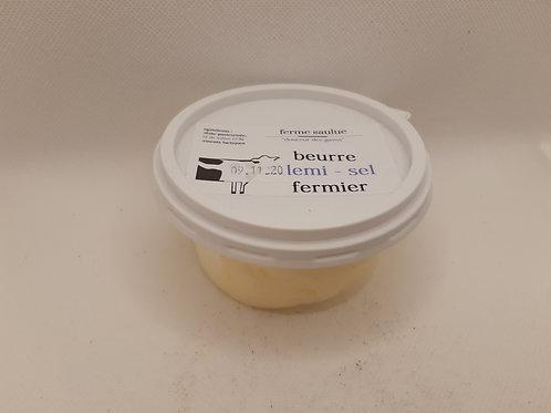 Beurre demi sel fermier 125g