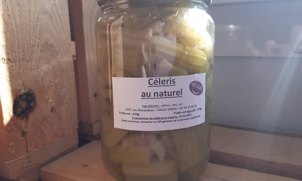 Céleri au naturel (650g)
