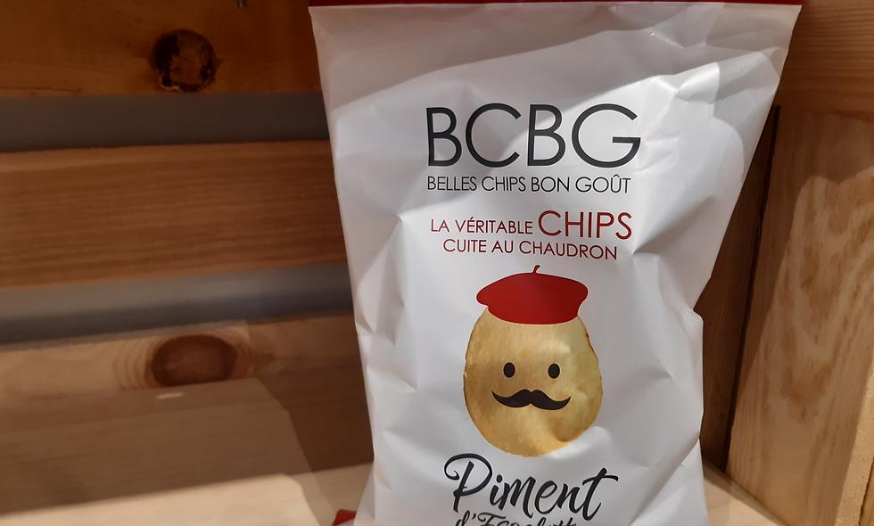 Chips piment d'Espelette 125g