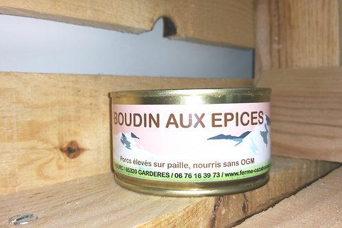 Boudin aux épices 180g