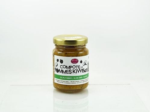 Compote de Pommes Kiwis Miel 100 G