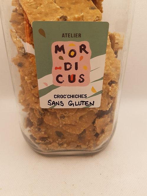 Biscuit apéritif sans gluten 100g